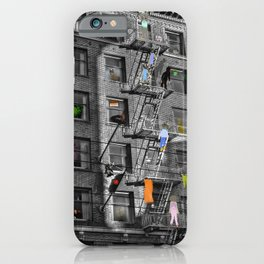Building Lives, Sharing Spaces iPhone Case
