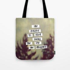 Her Life Tote Bag