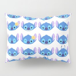 The Many Faces of Stitch Pillow Sham