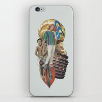 transistor iPhone & iPod Skins featuring Transistor Radio by Computarded