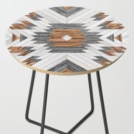 Urban Tribal Pattern No.8 - Aztec - Wood Side Table
