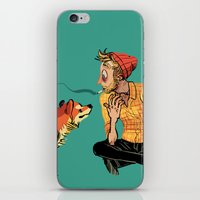 musa iPhone & iPod Skins featuring pet the dog by musa