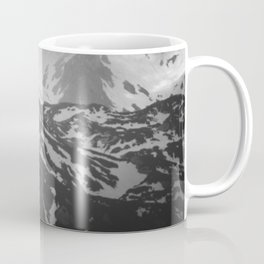 Lonely tree with stunning view on mountains Coffee Mug