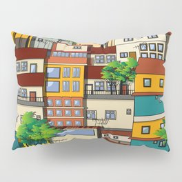 Favela seamless pattern Pillow Sham