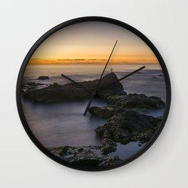 At evening. Wall Clock