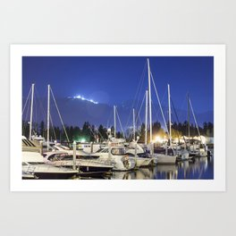 boats  Art Print