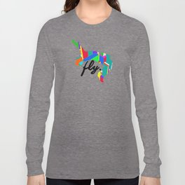 Fly Parkour Long Sleeve T-shirt
