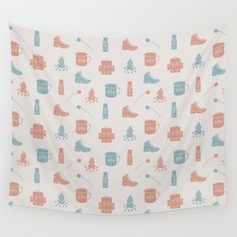 Camping (Orchard) Wall Tapestry