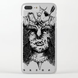 Draugr - Skyrim Inspired Clear iPhone Case