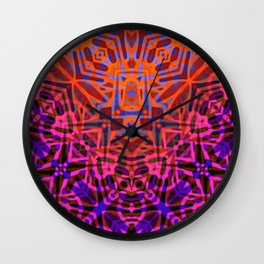 Ethnic Tribal Pattern G316 Wall Clock