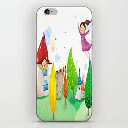 Happy Kids iPhone Skin