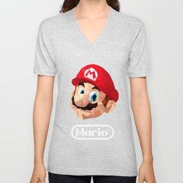 Mario Poster Unisex V-Neck
