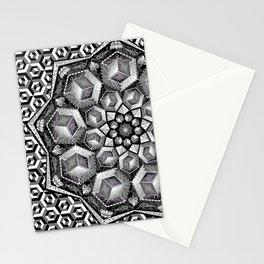 Isometric aspirations Stationery Cards