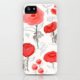 Big Roses iPhone Case