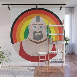 Gay man muscle master Wall Mural