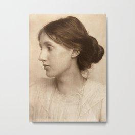 Virginia Woolf Vintage Photo,1902 Metal Print