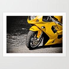 Suzuki GSXR-600  Art Print