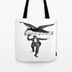 Saved By The Music  Tote Bag