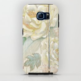 Rose on the fence iPhone Case
