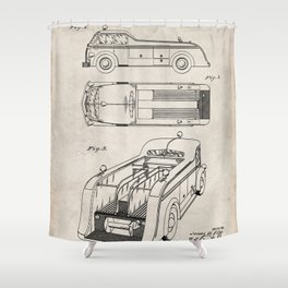 Antique Truck Shower Curtains