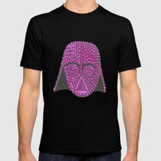 Darth Raspberry Black Mens Fitted Tee 2X-LARGE