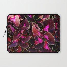 Intricate Coleus Design Laptop Sleeve