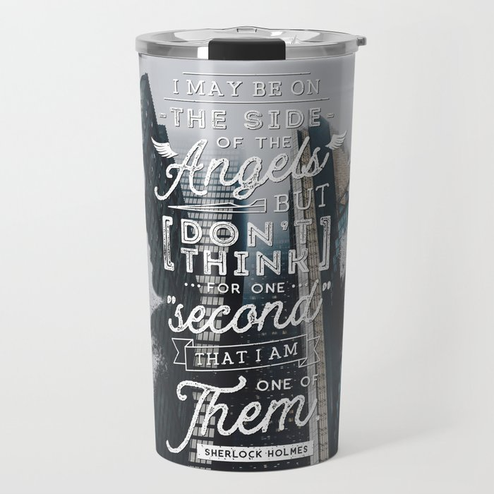 Sherlock - Angels Travel Mug