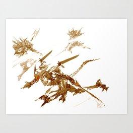 RoboticV Art Print