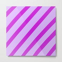 Royal Stripes Metal Print