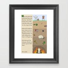Antics #237 - reign of jeff: part 1 Framed Art Print