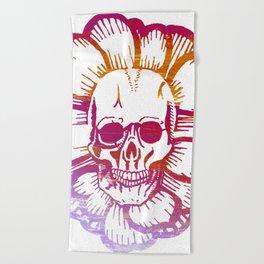 Shaka Skull Beach Towel