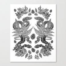 Serpent's Choir Canvas Print