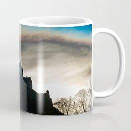 Silhouette of a Castle Coffee Mug