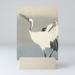 Two Cranes by Ohara Koson Mini Art Print