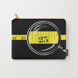 Tape Measure Border Carry-All Pouch