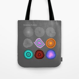 Generative Evolution Beta Tote Bag