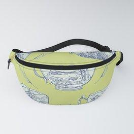 Pattern Design, cup landscape Fanny Pack