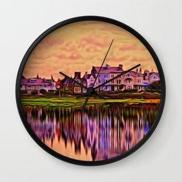 Imagine (Digital Art) Wall Clock
