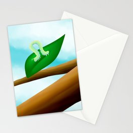 Inch Worm Stationery Cards