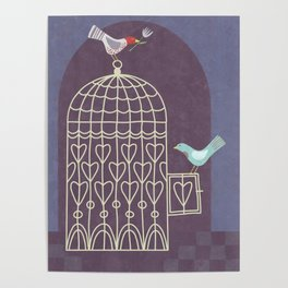 Leaving the Birdcage Poster