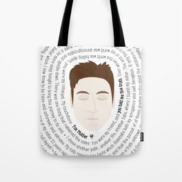 Fox Mulder - XF Quotes Tote Bag