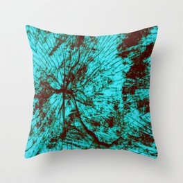 Shattering Throw Pillow