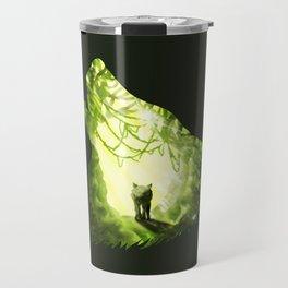 Wolf's Forest Travel Mug