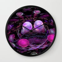 inception Wall Clocks featuring Inception by KAndYSTaR