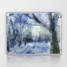 Blue Forest Van Gogh Laptop & iPad Skin