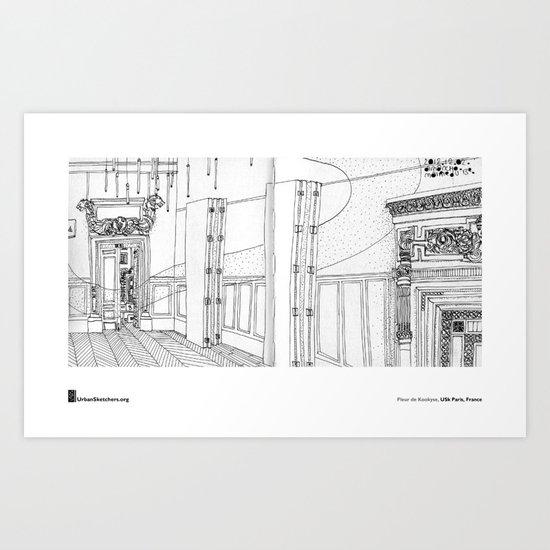 """Fleur de Kookyse, """"Mairie du 13e, Paris"""" Art Print"""