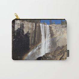 Rainbow Over Vernal falls Carry-All Pouch