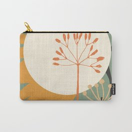 Abstract Plant 03 Carry-All Pouch
