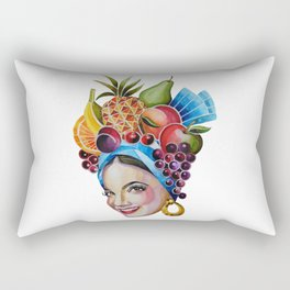 Carmen Miranda Rectangular Pillow