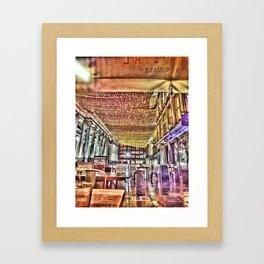 Glasgow Royal Exchange Square Framed Art Print